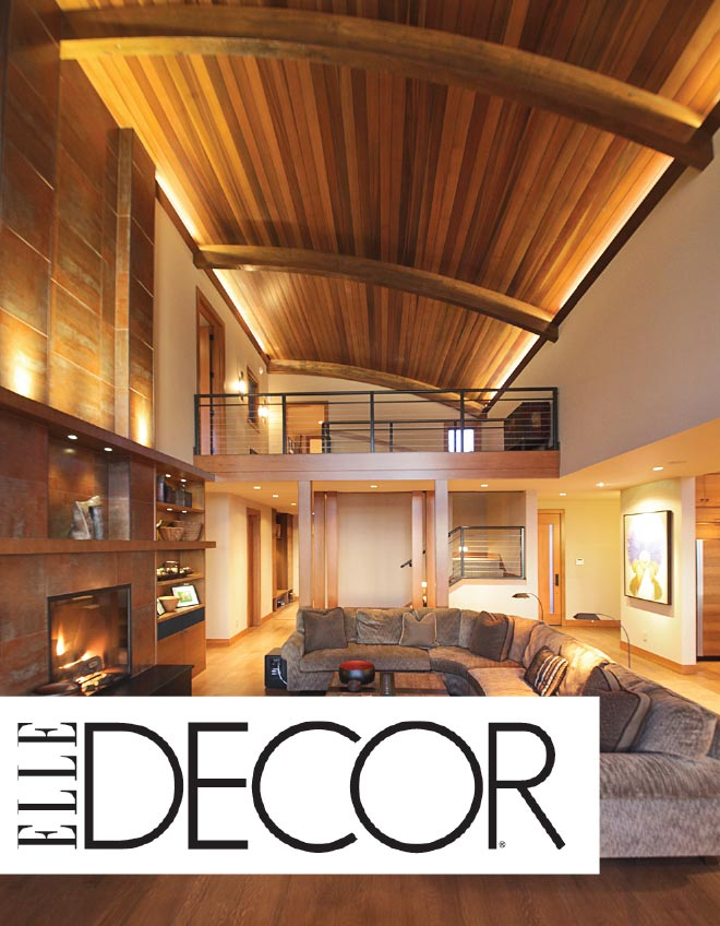 LeeAnn Baker Interiors LTD - ELLE Decor